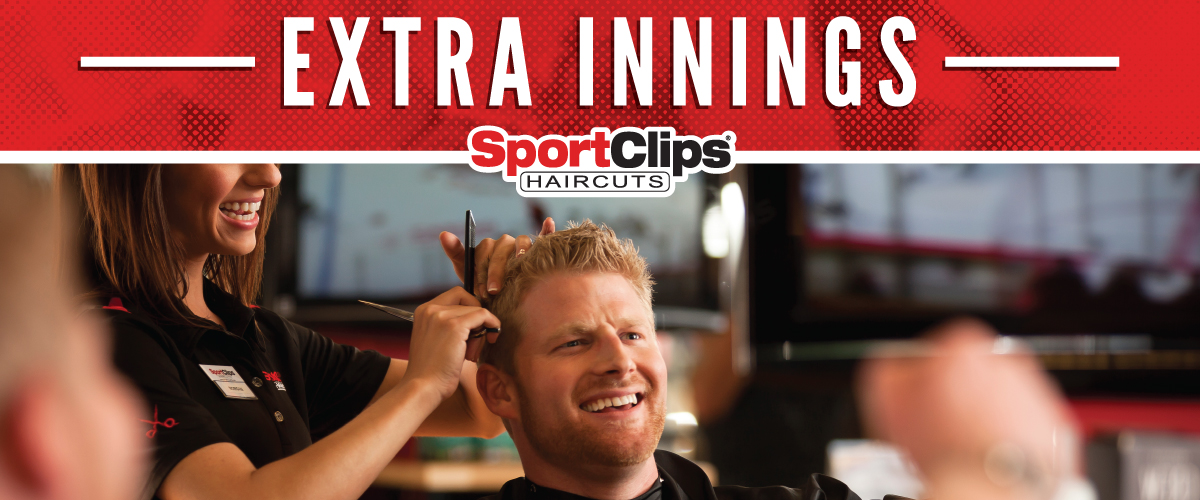 The Sport Clips Haircuts of Oswego Extra Innings Offerings